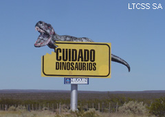 The area has a big paleontological interest