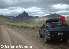 Patagonia part of Route 40