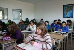 Uno de los centros educativos de la Fundación Cruzada Patagónica