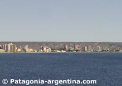 Panorámica de Puerto Madryn