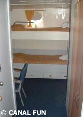 Interior del crucero