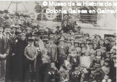 Wales immigrants in the ship
