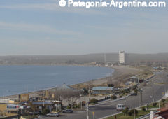 View of the city of Puerto Madryn