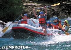 Rafting por el Río Manso