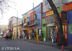 La Boca neighbourhoods