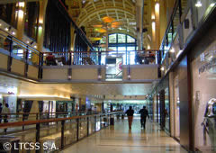 Shopping Abasto interior