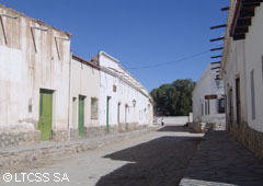 Typical street of Cachi - Salta