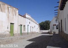 Calle típica de Cachi - Salta