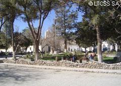 Cachi square - Salta