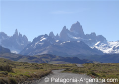 View of the Fitz Roy - El Chaltén