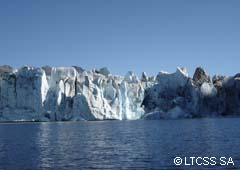 The Viedma glacier is in danger