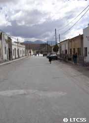 La ciudad San Antonio de los Cobres en Salta