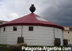 Faro del fin del mundo - Reconstrucción a escala en el Museo Marítimo de Ushuaia