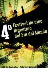 Promotional Poster of  End of the World Argentinian Cinema Festival