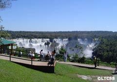 Waterfalls on the Brazilian Side