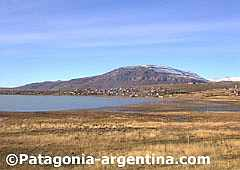 Lake Argentino and Calafate hill