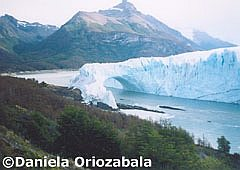 Ice tunnel in Perito Moreno Glacier