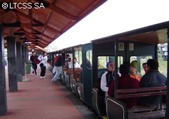 The stations are well maintained and comply with all security guarantees