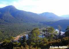 Vista desde el Filo Hua Hum - San Martín de los Andes