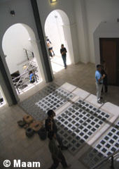 Interior of the museum - Salta