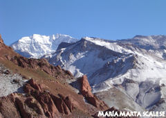 View of Aconcagua - Mendoza