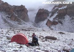 Campamento en la Base Penitentes - Mendoza