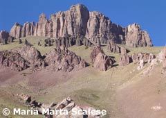 Los Penitentes, en verano - Mendoza