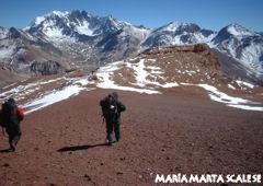 Ascenso a Los Gemelos - Aconcagua - Mendoza