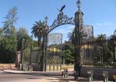 Portones de acceso al Parque Gral. San Martín - Mendoza