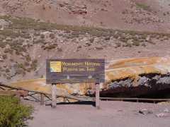 Área Natural Protegida Puente del Inca - Mendoza