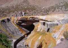 Puente del Inca (Inca bridge)