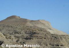 Monte León - Perfil rocoso que le da nombre al parque