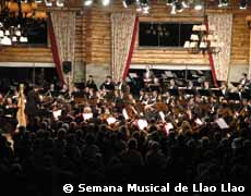 Orchestra of Salta in the Llao Llao Music Week