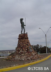 Monument to the Tehuelche Aborigine