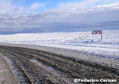 La ruta nevada