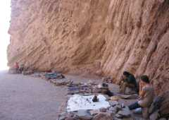 Artisans and musicians at Devil's Gorge - Salta