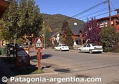 Vista del centro de San Martín de los Andes