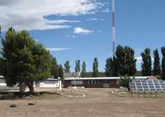 Rural school in a Mapuche community