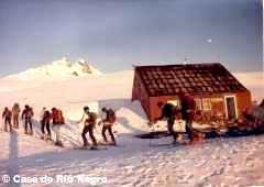 Refuge Otto Meiling Cerro Tronador