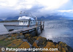 Beagle Channel and Lobos Island