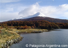 Panoramic view of Cerro Bonete - Tierra del Fuego N.P.