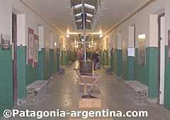 Pasillo interior del ex presidio de Ushuaia