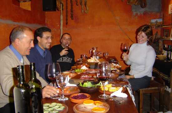 Wine Roads in Mendoza