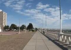 La costanera de Puerto Madryn