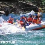 Rafting en Río Manso