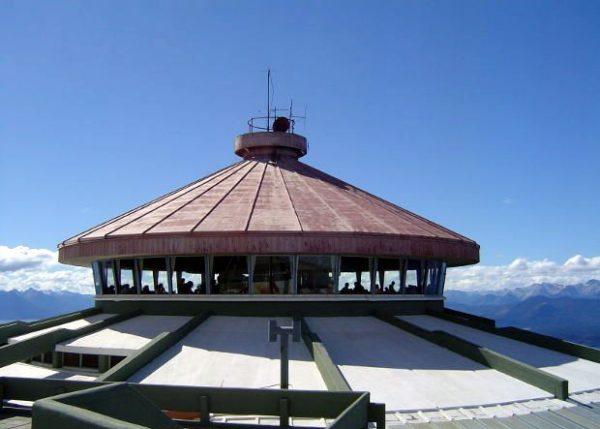 Confitería giratoria del Cerro Otto - Bariloche - Patagonia Argentina