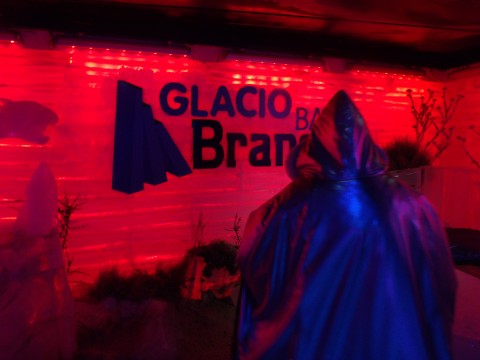 Glaciobar Branca - Ice Bar in Glaciarium