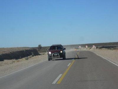 Nueva Ruta Nacional 23, asfaltada