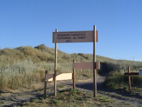 Sendero de avistaje de aves - Balneario El Cóndor - Viedma