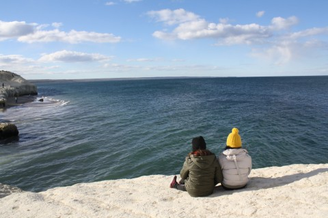 Waiting for whales at El Doradillo beaches - Puerto Madryn